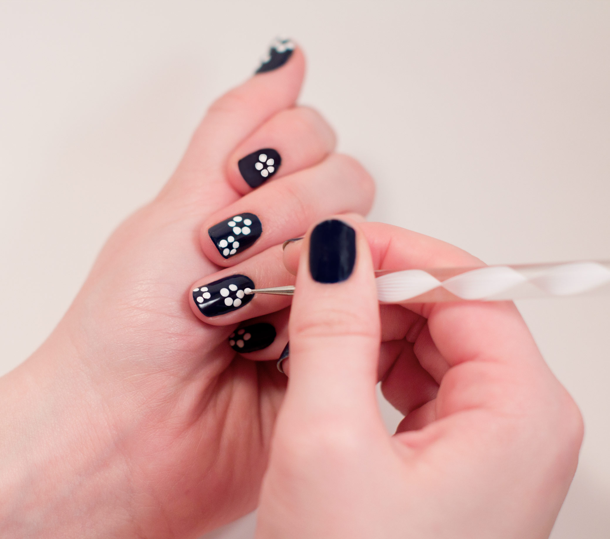 Nail art designs with a toothpick toothpick nail art nails nail designs using toothpicks simple design ideas view images prinsesfo Images